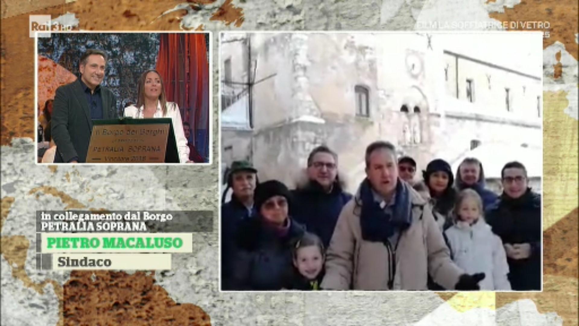 Petralia Soprana, consegnata la targa di Borgo dei Borghi 2018