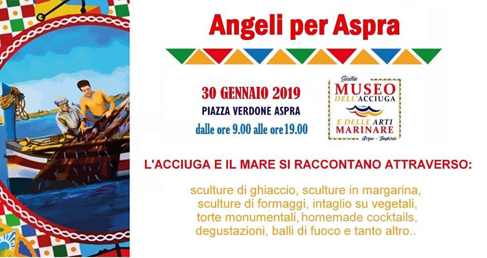"""""""Angeli per Aspra"""", artisti da tutta Italia per un evento di beneficenza a Palermo"""