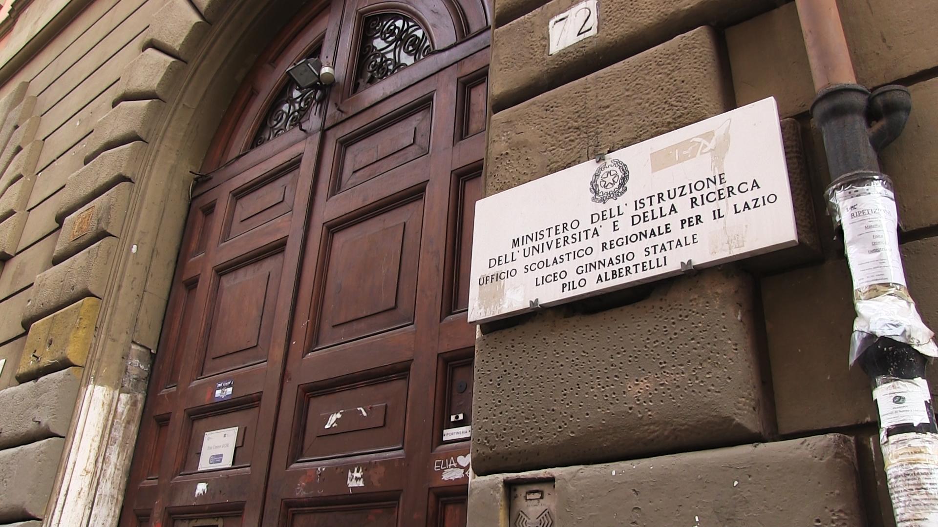 Roma, liceo Pilo Albertelli primo al mondo contro  violenza