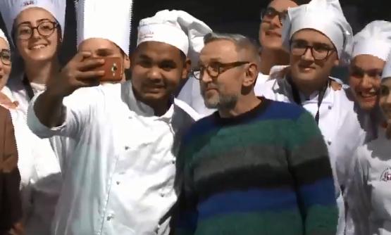 """Palermo, Bruno Barbieri ad Expo Cook: """"Amo la Sicilia, è straordinaria"""""""
