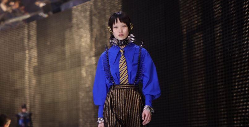 Milano Fashion Week, Gucci torna in passerella in maschera [FOTO]