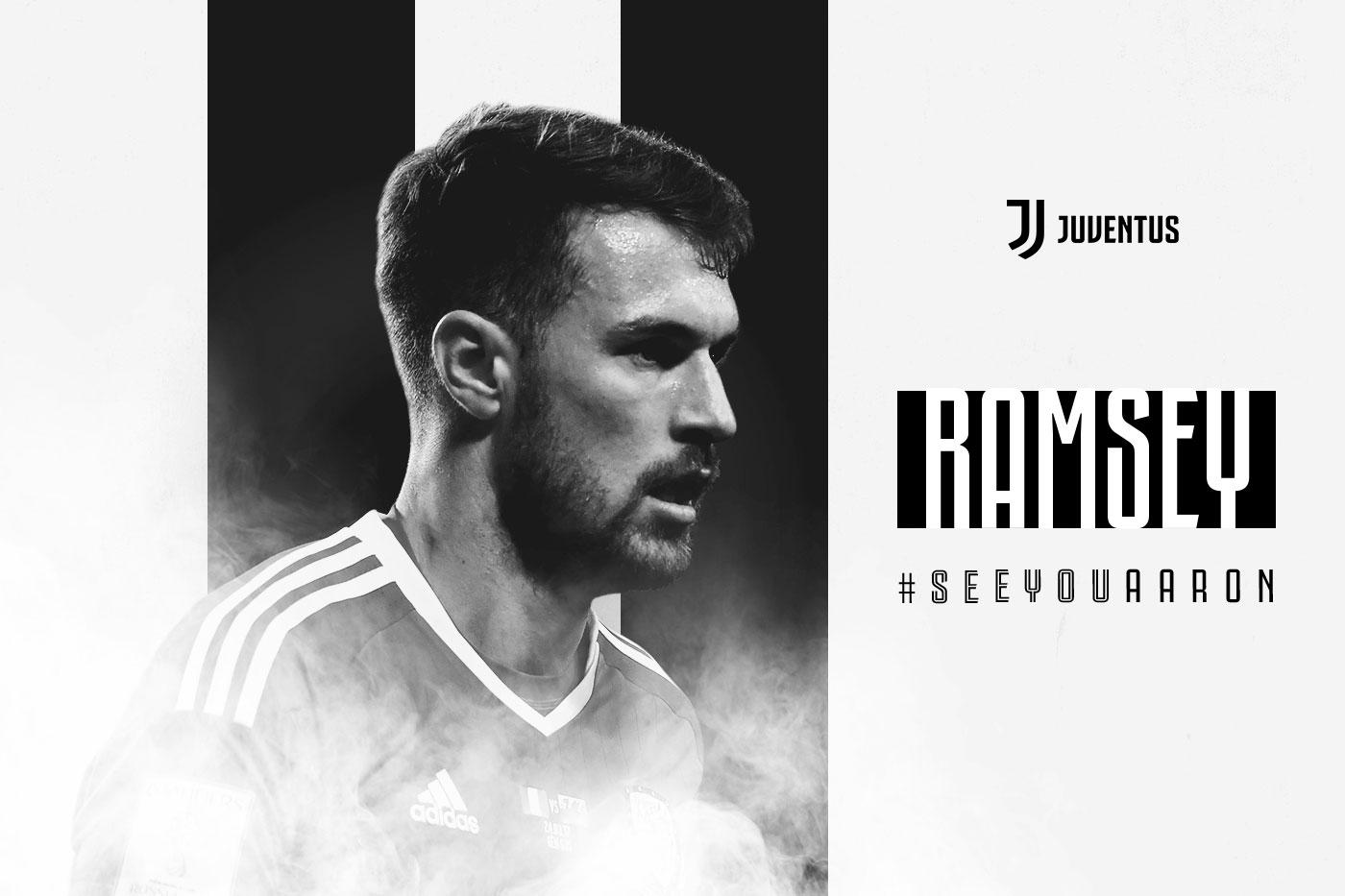 """Ramsey si presenta """"La Juve un top club, qui per una nuova sfida"""""""