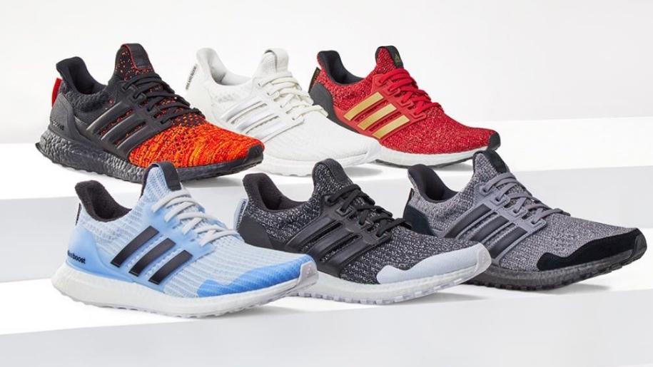 Game of Thrones: Adidas lancia le sneakers con i motti delle casate