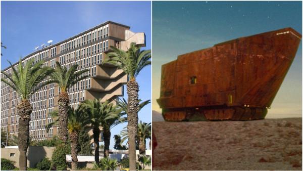 A rischio demolizione l'Hotel du Lac: l'edificio rovesciato ispirò Star Wars