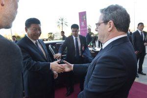 Xi Jinping a Palermo - Foto di Enzo Fricano