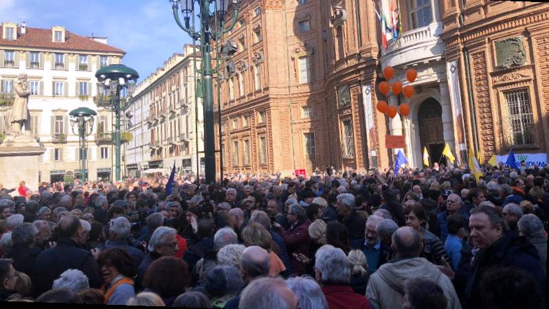 Tav, bandi rinviati: la lettera di Conte e i manifestanti in piazza