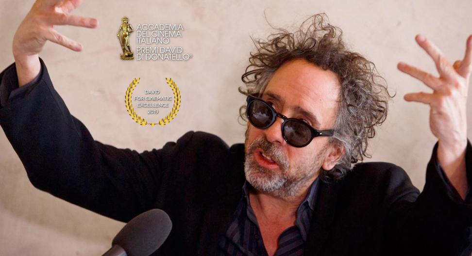 David di Donatello: Premio alla carriera per Tim Burton