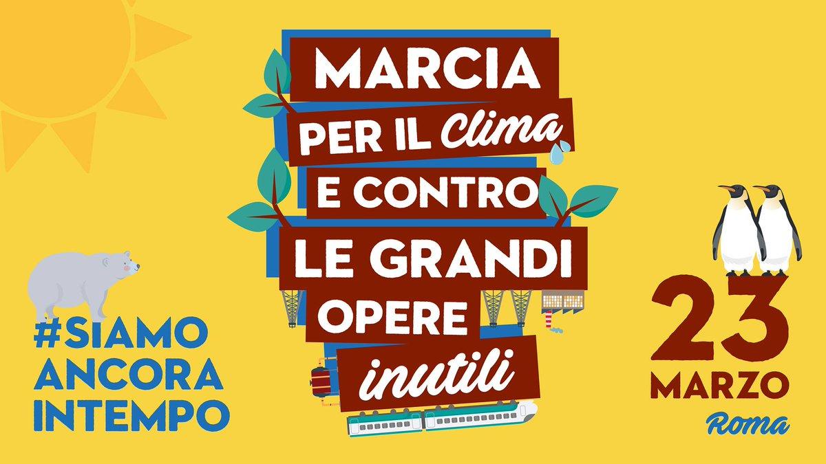Parte a Roma la Marcia per il clima, presenti migliaia di persone da tutta Italia