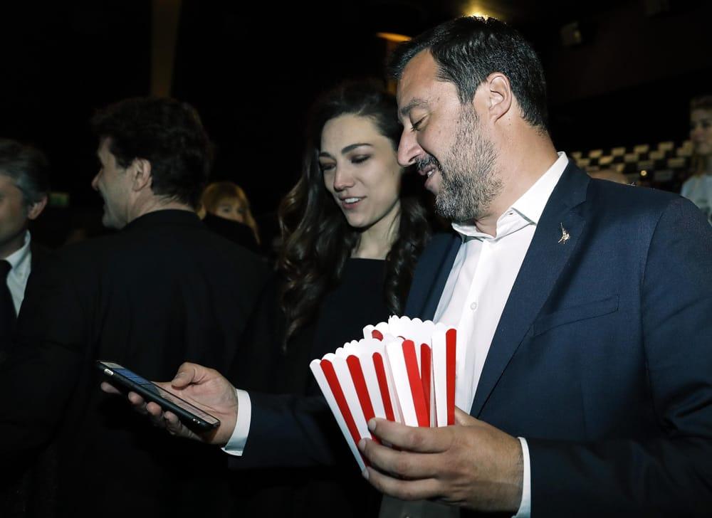 Gossip, decolla l'amore tra Matteo Salvini e Francesca Verdini