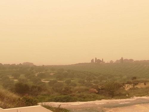 Il meteo a Pasqua e Pasquetta: scirocco e sabbia del Sahara