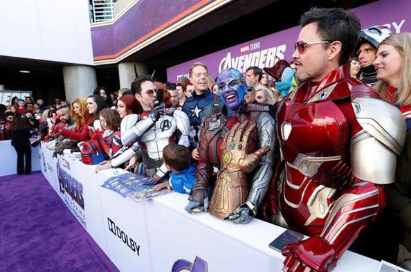 Avengers Endgame, il film-evento il 24 aprile nelle sale: le foto della premiere