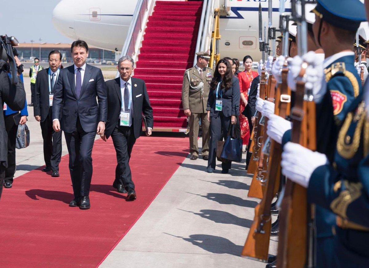 Il premier Conte a Pechino per il forum sulla Via della Seta