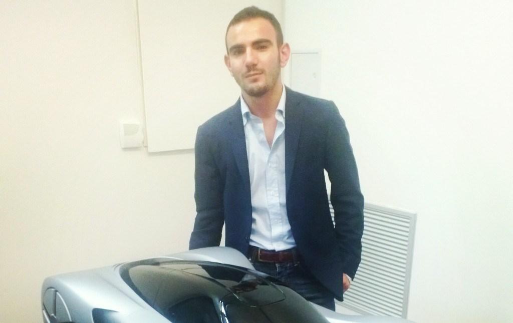 Gianmarco Giacchina, il palermitano che 'veste' le auto