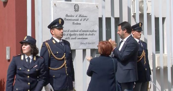"""Liberazione, Salvini a Corleone: """"Vorrei un 25 aprile all'insegna dell'unione"""""""
