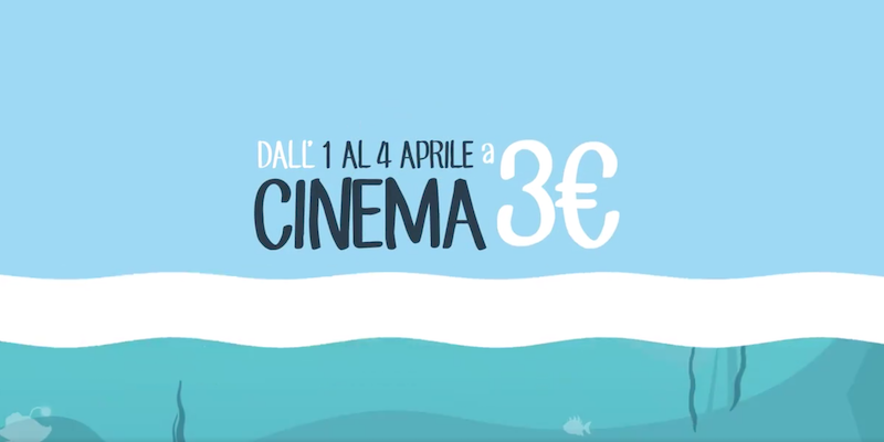 Cinema Days: 4 giorni di cinema a 3 euro