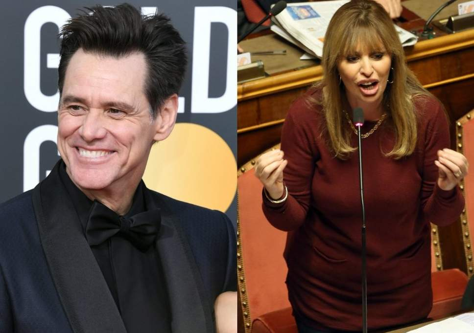 Jim Carrey, la vignetta sul duce: l'attore risponde alla Mussolini