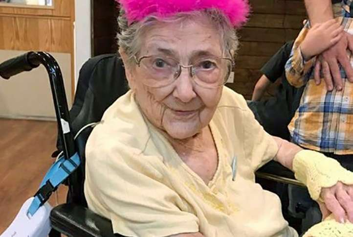 Rose Marie ha vissuto fino a 99 anni con gli organi invertiti e non l'ha mai saputo