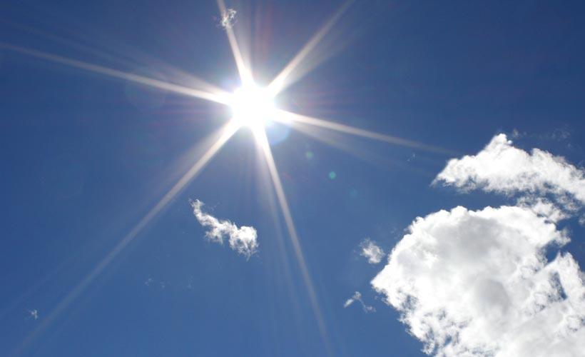 Il meteo di oggi 31 maggio, temperature in aumento ovunque