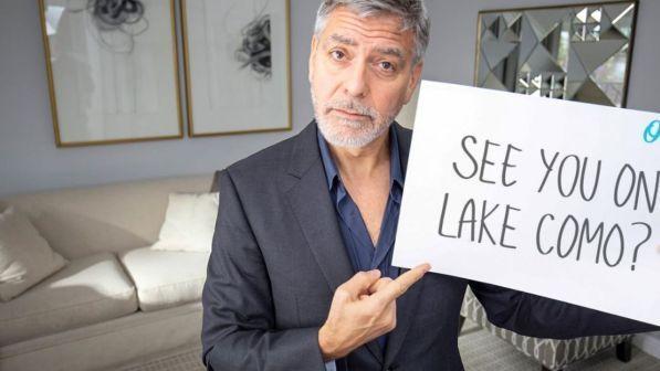 Il contest di George e Amal per la Clooney Foundation: in palio un invito a pranzo