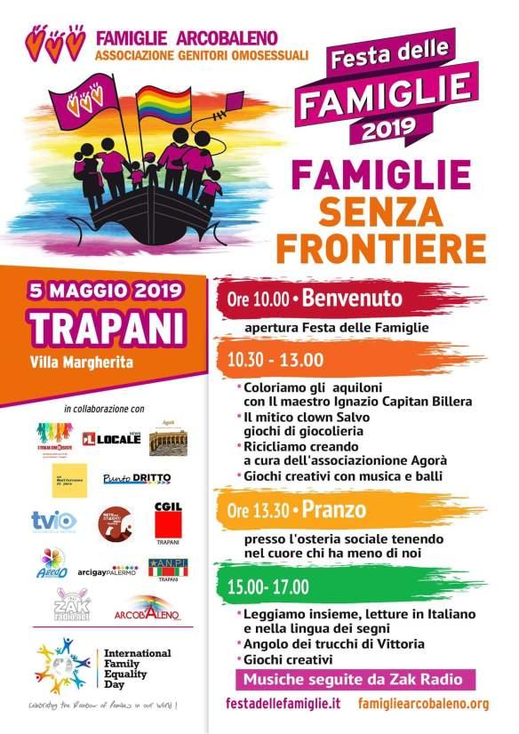 Festa delle Famiglie, a Trapani una giornata all'insegna di giochi e incontri
