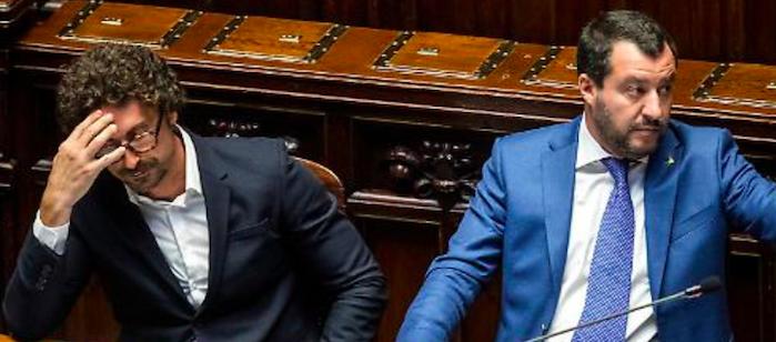 Scontro sul decreto sicurezza bis tra Salvini e Toninelli, lunedì il testo al CdM
