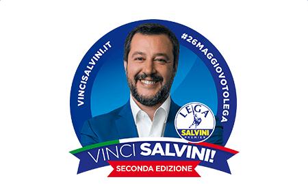 E' tornato il VinciSalvini, ad annunciarlo è lo stesso vicepremier – VIDEO