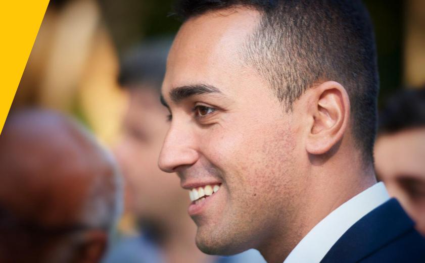Di Maio confermato leader del M5S con l'80% dei voti su Rousseau