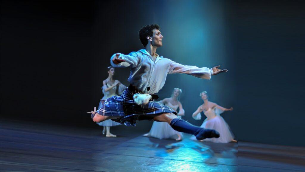 """""""La Sylphide"""", il balletto dell'Opera di Roma al Lodz Ballet Festival"""