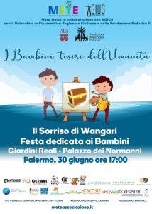 festa multiculturale dei bambini, Palermo, Giardini Reali, Palazzo dei Normanni, Fondazione Federico II, Il sorriso di Wangari,