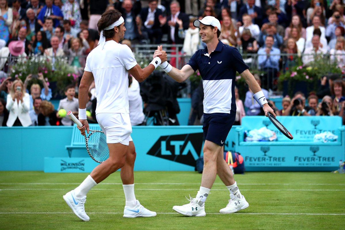 Murray, ritorno da sogno al Queen's: vince in doppio con Lopez