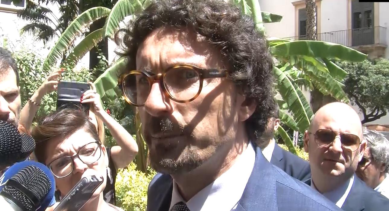 Danilo Toninelli in visita a Palermo, grande sostegno alle imprese siciliane