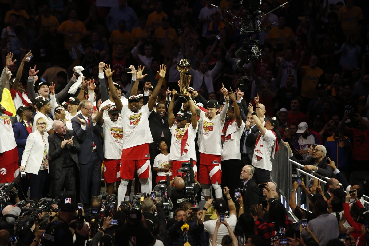 NBA Finals, Toronto Raptors campioni: battuti i Warriors in gara-6