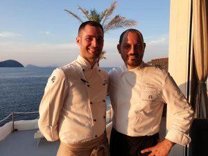 notti stellate, cene a 4 mani, chef Giuseppe Biuso, Therasia Resort & Spa, Vulcano, Ristorante Il Cappero