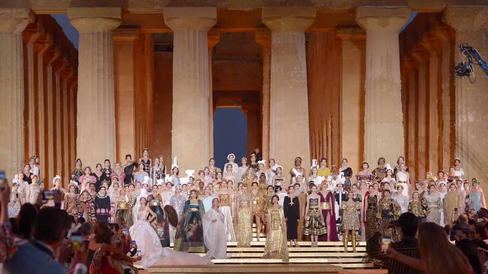 Con Dolce & Gabbana la mitologia sfila nella Valle dei Templi – Foto