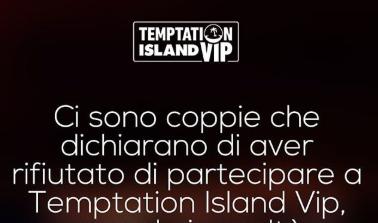 """Temptation Island Vip attacca alcune coppie """"Non vi ha invitato nessuno"""""""