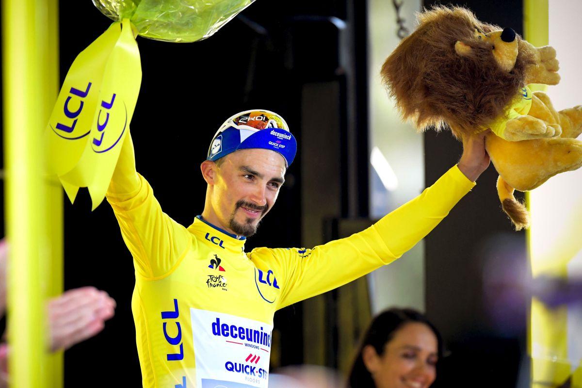 Alaphilippe vince la crono e allunga in testa al Tour de France