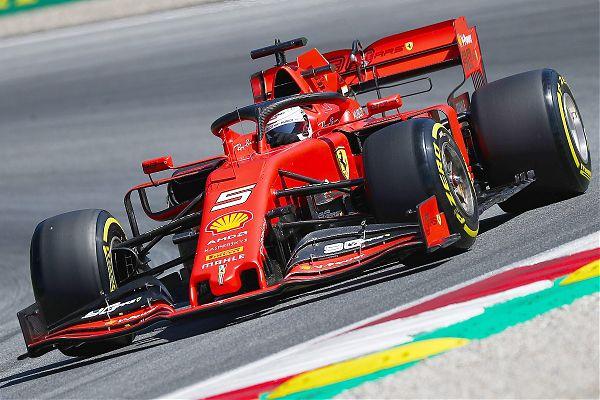 Vettel e Leclerc scaldano i motori in vista del Gp di Germania