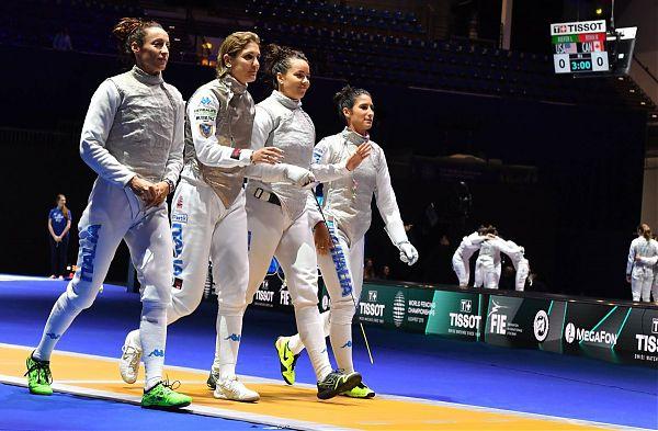 Fioretto donne vince l'argento ai mondiali, Italia a sette medaglie
