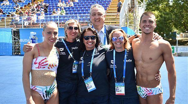 Nuoto sincronizzato, Flamini e Minisini d'argento ai Mondiali