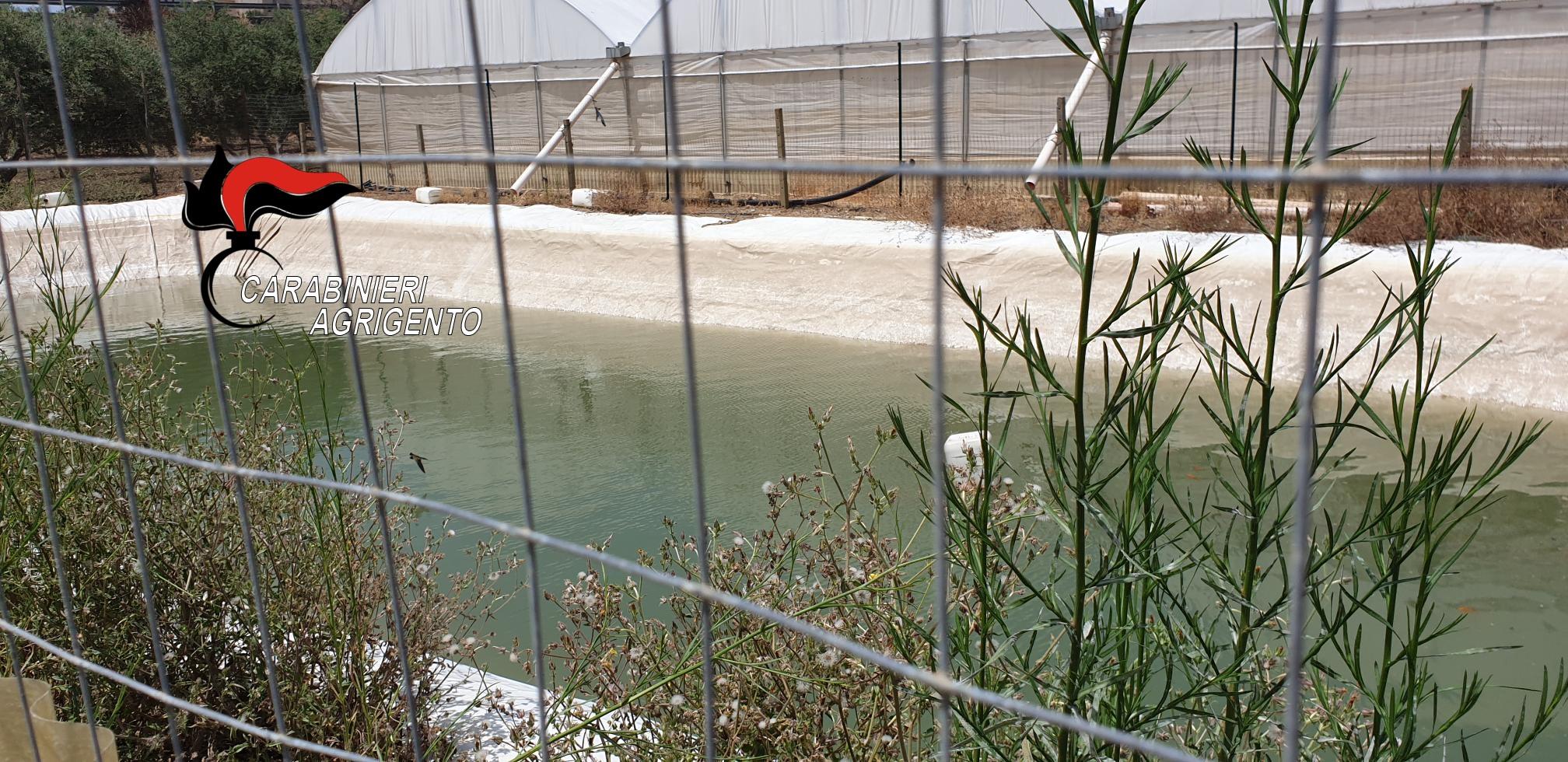 Furti d'acqua nell'Agrigentino, 3 arresti e controlli a tappeto