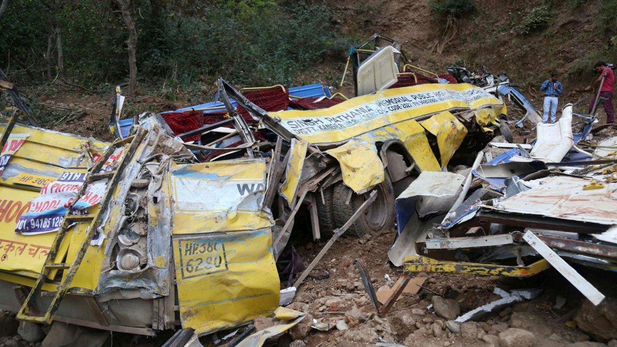 Autobus finisce in un fossato in India, 29 morti e 18 feriti