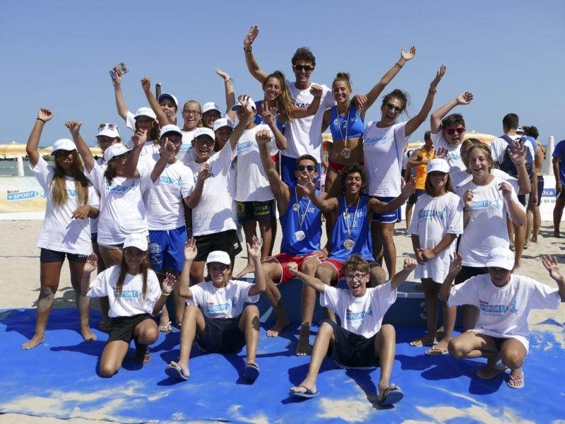 A Cagliari Kinderiadi-Trofeo Regioni Beach Volley, in palio titolo U.18
