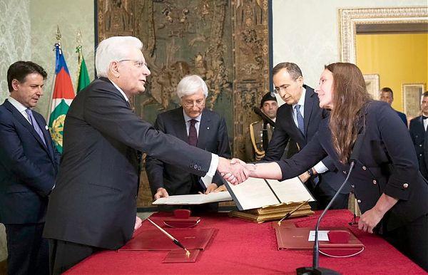 Il neo ministro Locatelli giura davanti a Mattarella