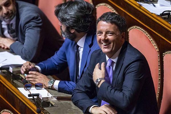 """Renzi """"Non vedo valori comuni Pd-M5s"""""""