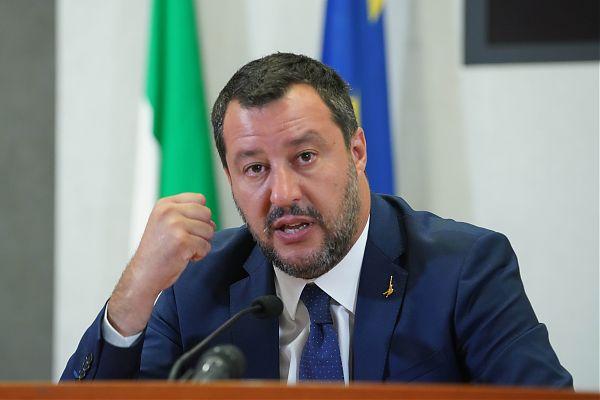 """Salvini """"Cinquestelle e Pd già governano insieme, per ora a Bruxelles"""""""