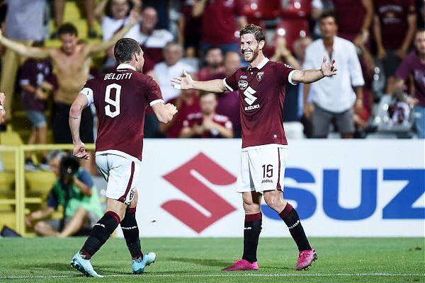 Belotti, Andaldi e Zaza stendono Debrecen, il Torino vince 3-0