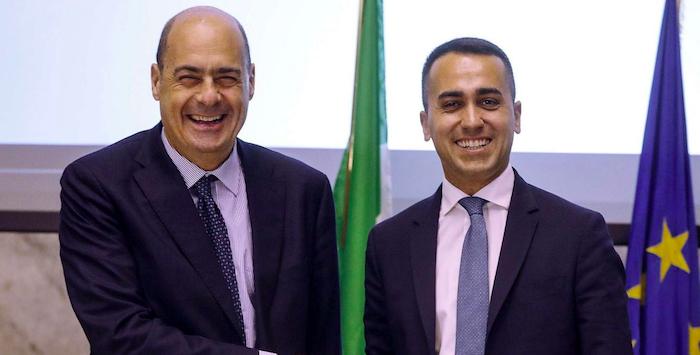 Governo, vertice Di Maio-Zingaretti: nodi Conte e taglio parlamentari