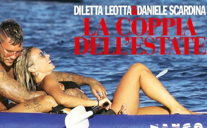Diletta Leotta e Daniele Scardina, coccole e intesa al mare