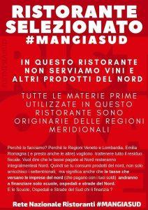 #mangiasud, iniziativa, bar devenitizzato, Calabria, Veneto