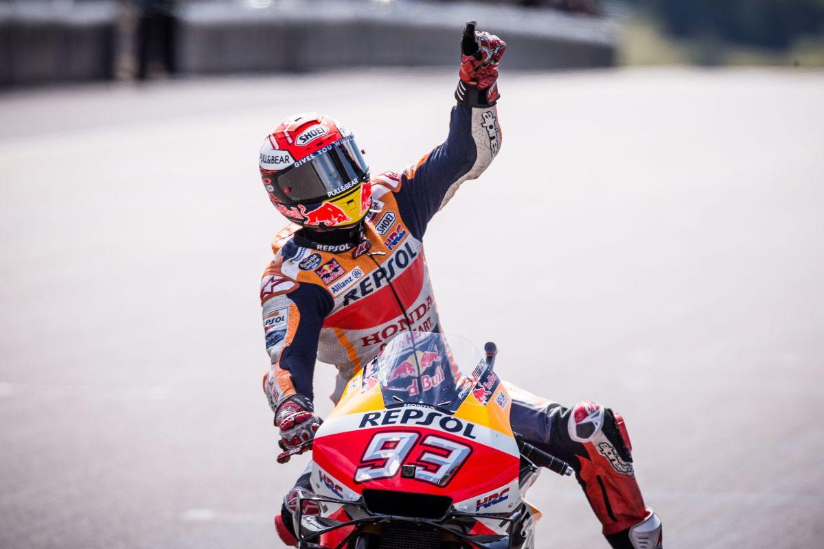 Pole impossibile a Brno per Marc Marquez
